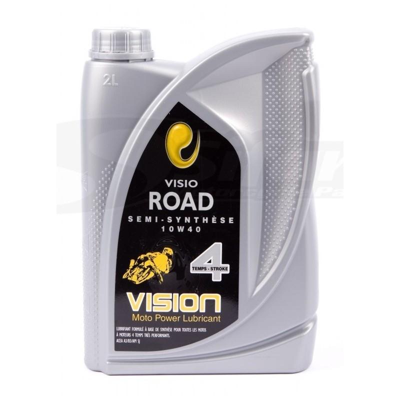 Motor oil 4 stroke semi-synthetic 10w40 2 Liters