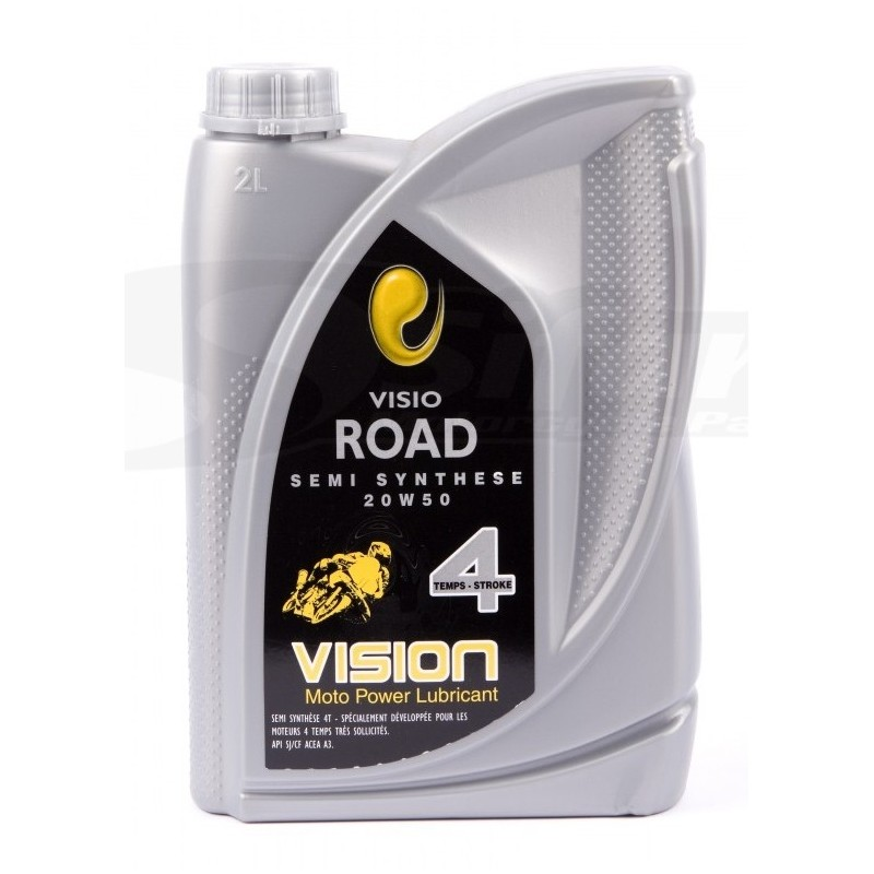 Motor oil 4 stroke semi-synthetic 20w50 2 Liters