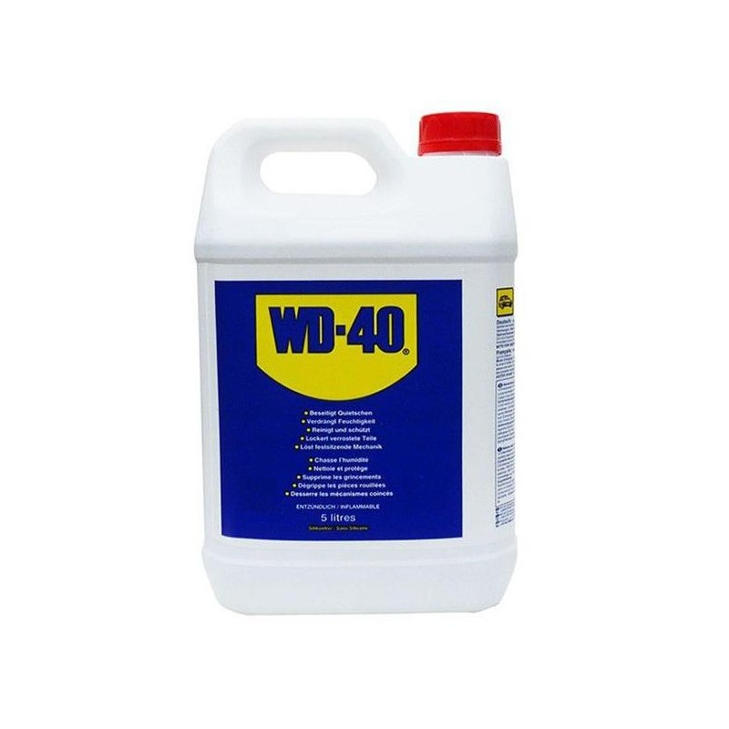 Can of multifunction WD-40 5 L