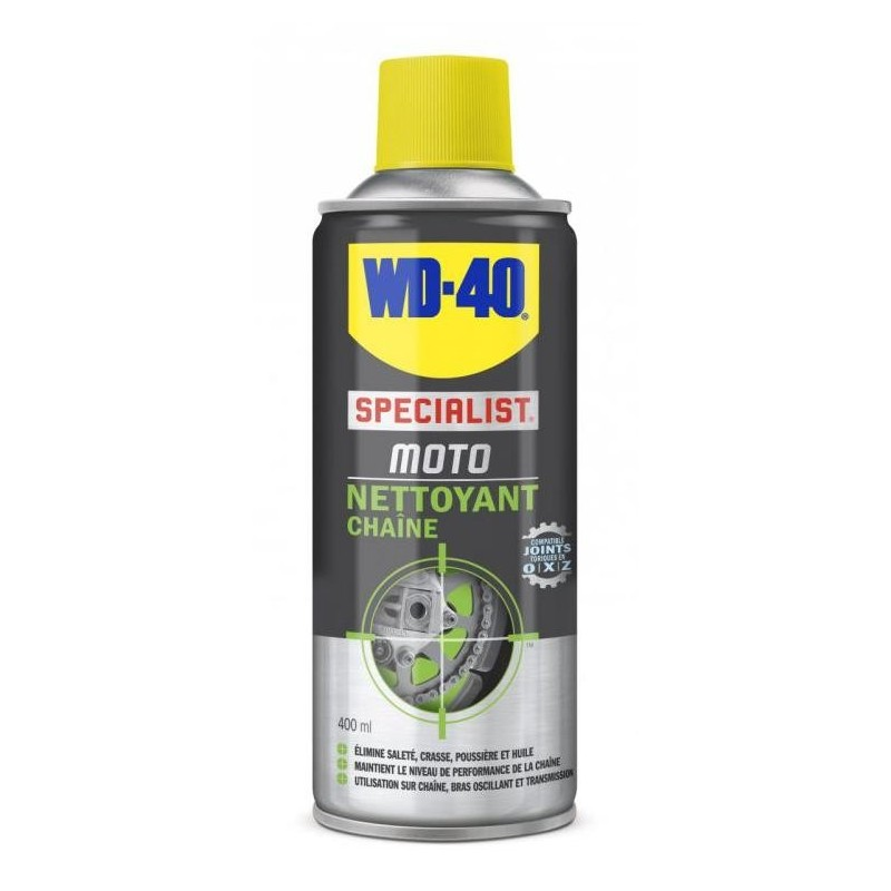 Spray of chain cleanser WD-40 400 ml
