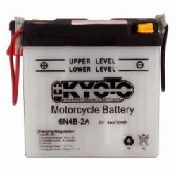 Batterie KYOTO type 6N4B-2A