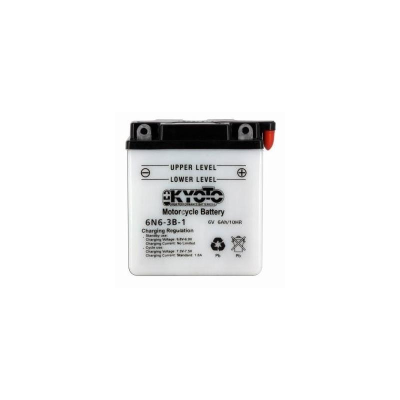 Batterie KYOTO type 6N6-3B-1