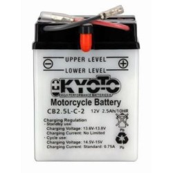 Battery KYOTO type YB2-5L-C2