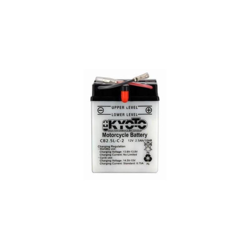 Batterie KYOTO type YB2-5L-C2