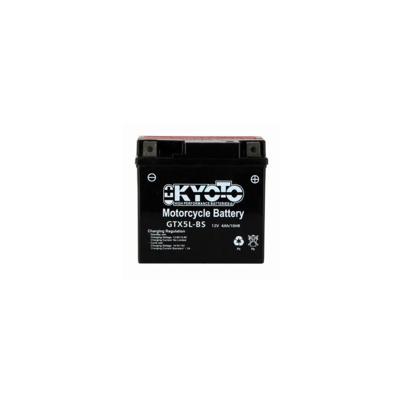 Battery KYOTO type YTX5L-BS