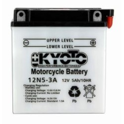 Batterie KYOTO type 12N5-3A