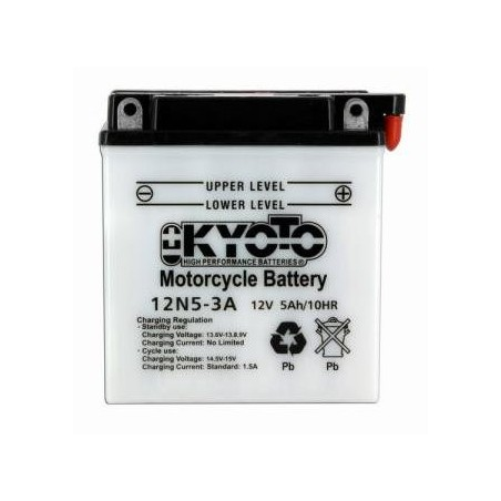 Battery KYOTO type 12N5-3A