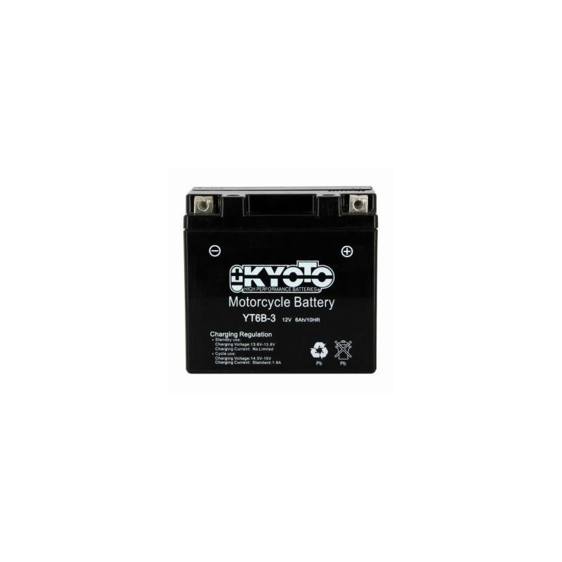 Battery KYOTO type YT6B-3