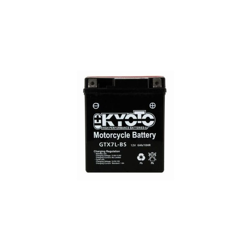 Battery KYOTO type YTX7L-BS