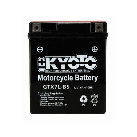 Batterie KYOTO type YTX7L-BS