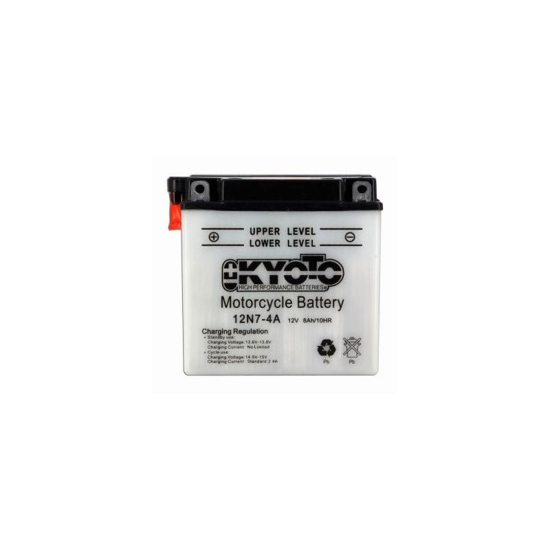 Batterie KYOTO type 12N7-4A