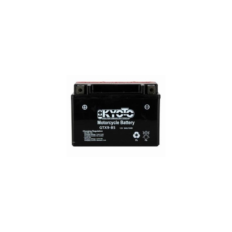 Battery KYOTO type YTX9-BS