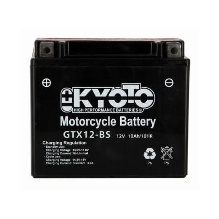 Battery KYOTO type YTX12-BS AGM