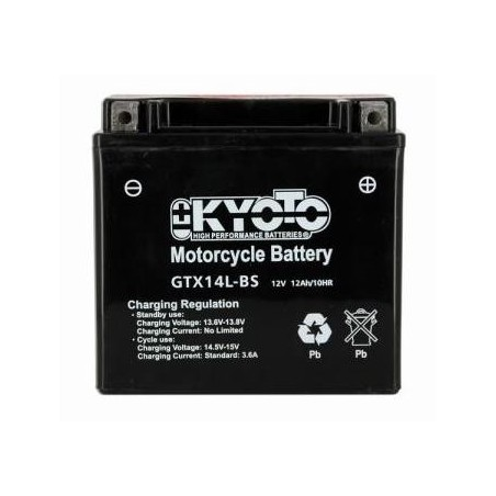 Battery KYOTO type YTX14L-BS