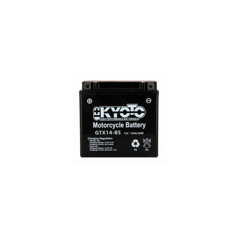 Battery KYOTO type YTX14-BS