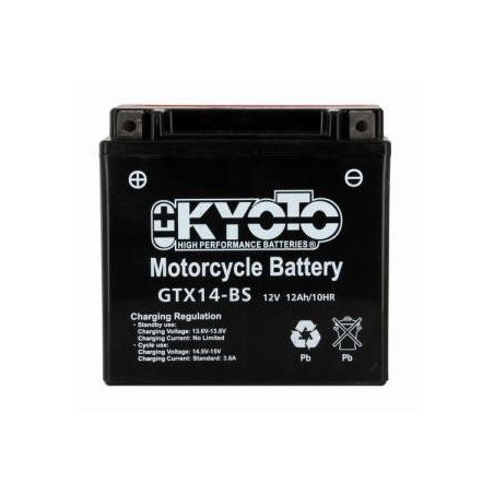 Batterie KYOTO type YTX14-BS