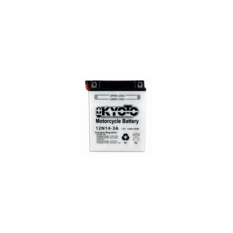 Battery KYOTO type 12N14-3A