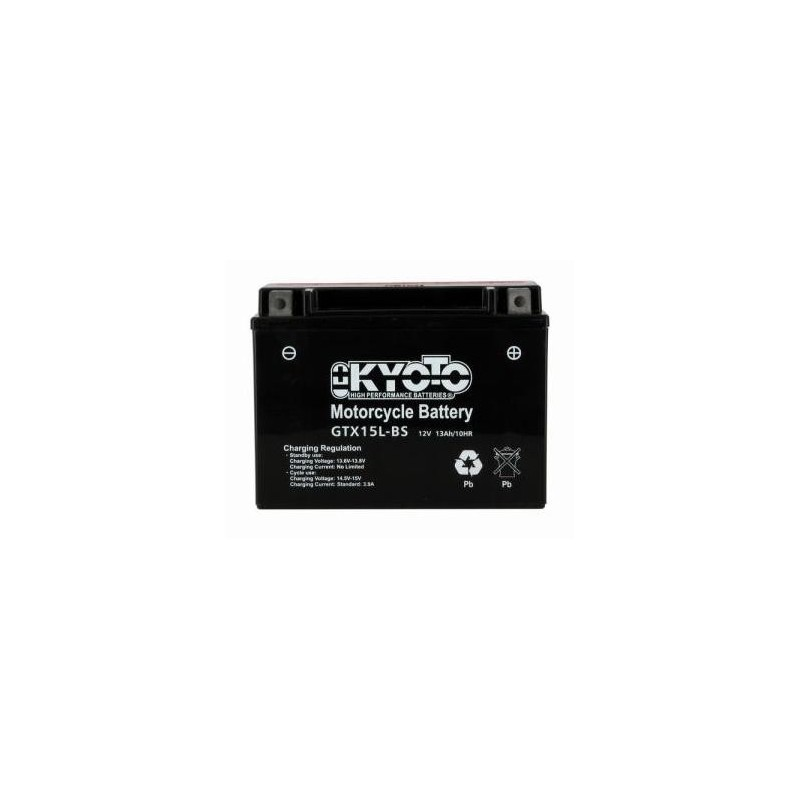Battery KYOTO type YTX15L-BS
