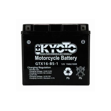 Batterie KYOTO type YTX16-BS-1