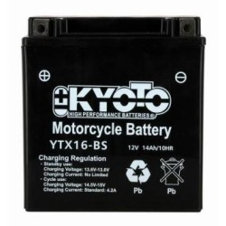 Battery KYOTO type YTX16-BS