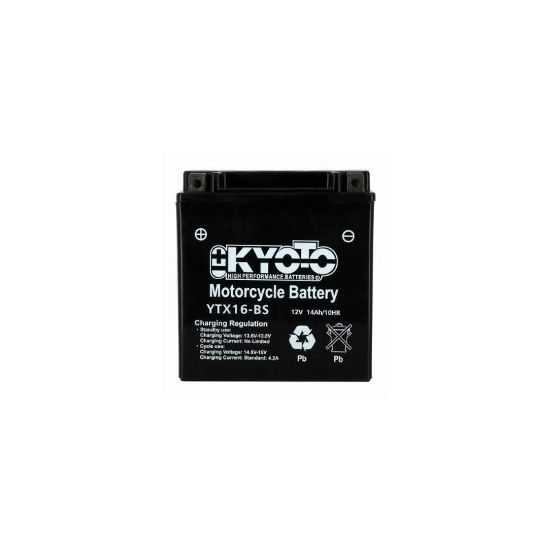 Batterie KYOTO type YTX16-BS