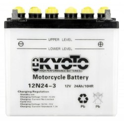 Battery KYOTO type 12N24-3