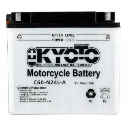 Battery KYOTO type Y60-N24L-A