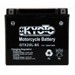 Battery KYOTO type YTX20L-BS