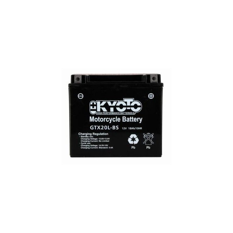 Batterie KYOTO type YTX20L-BS