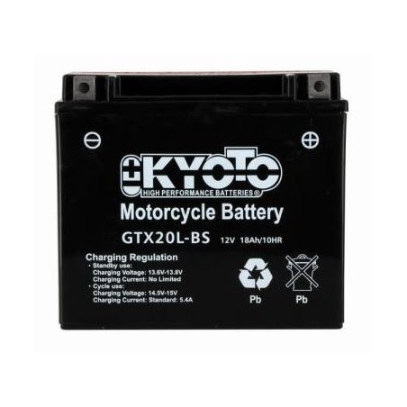 Batterie KYOTO type YTX20L-BS AGM