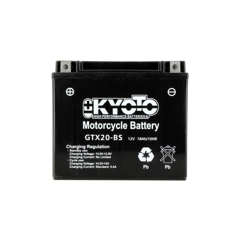 Batterie KYOTO type YTX20-BS