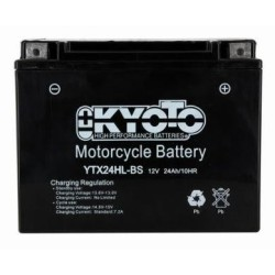 Batterie KYOTO type YTX24HL-BS