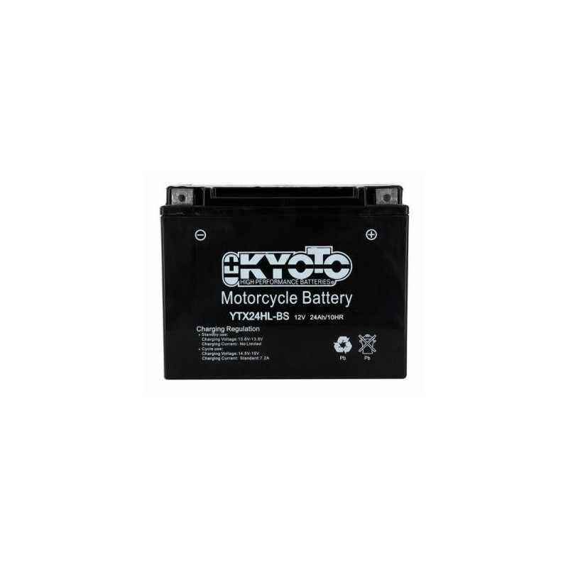 Battery KYOTO type YTX24HL-BS