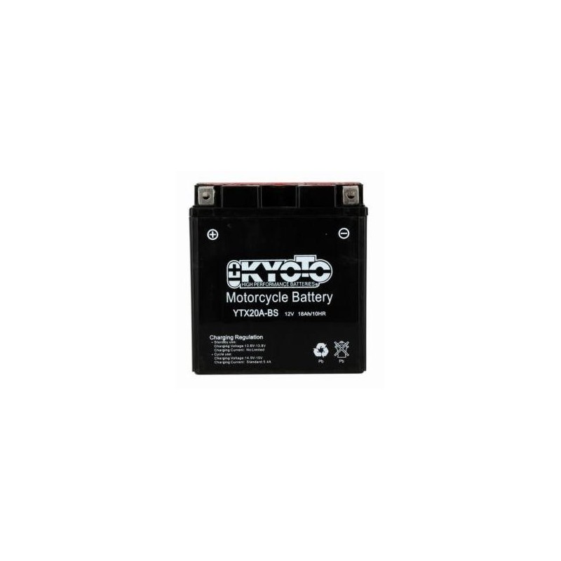 Batterie KYOTO type YTX20A-BS
