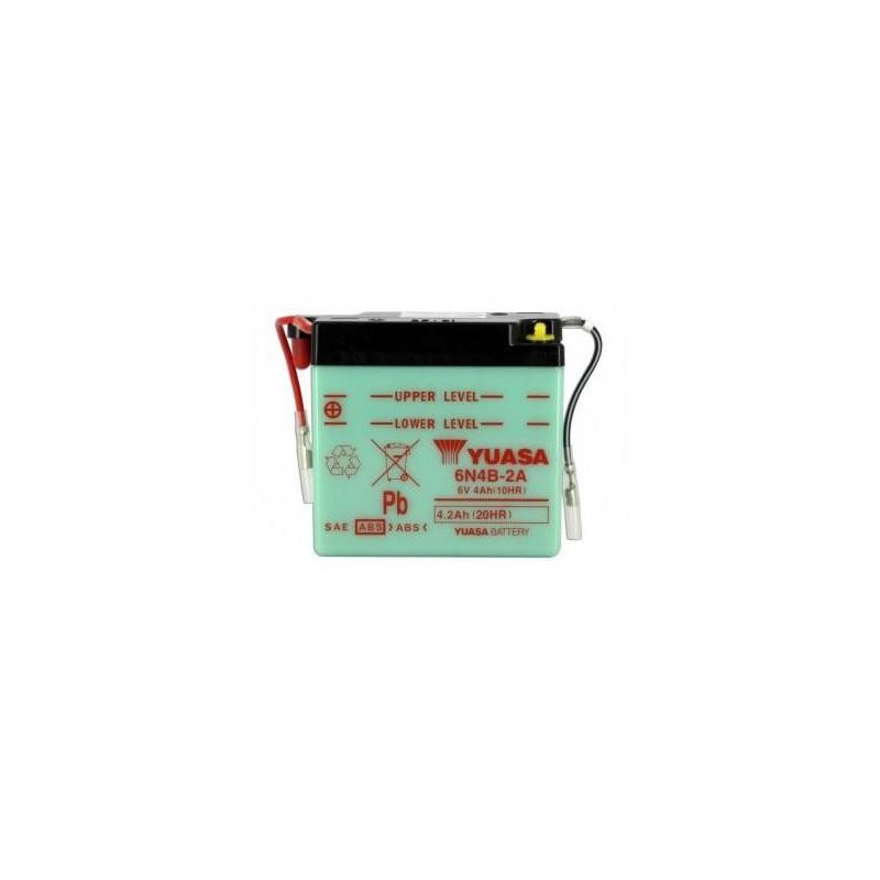 Battery YUASA type 6N4B-2A