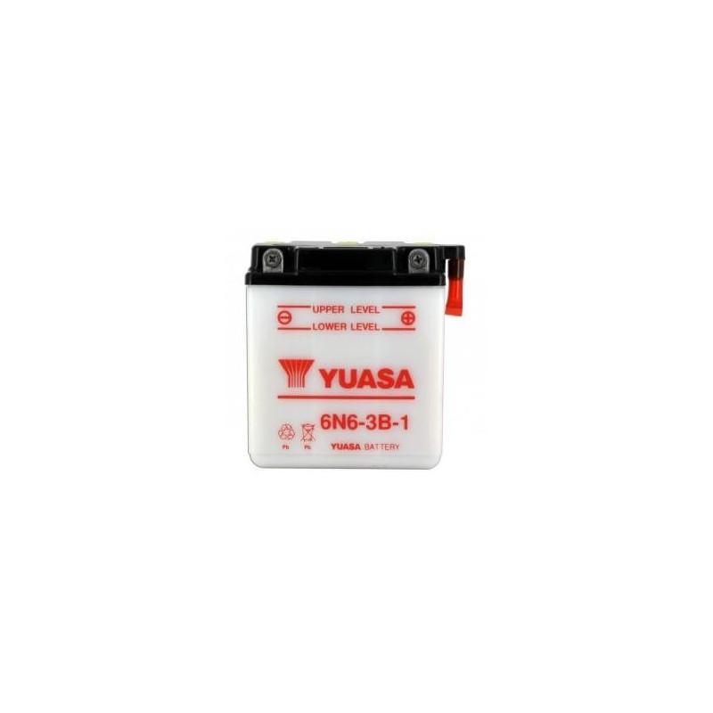 Battery YUASA type 6N6-3B-1
