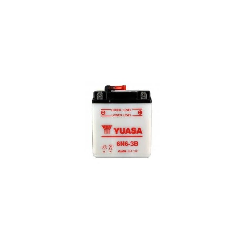 Batterie YUASA type 6N6-3B