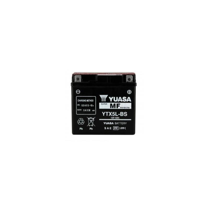 Batterie YUASA type YTX5L-BS