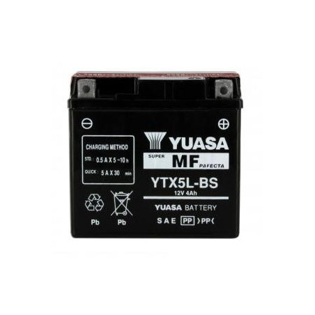 Battery YUASA type YTX5L-BS AGM