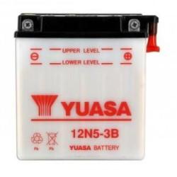 Battery YUASA type 12N5-3B