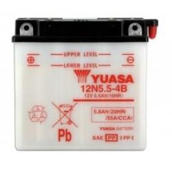 Batterie YUASA type 12N5.5-4B