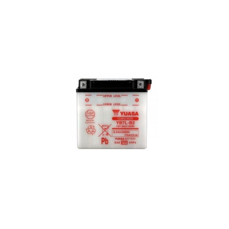 Batterie YUASA type YB7L-B2