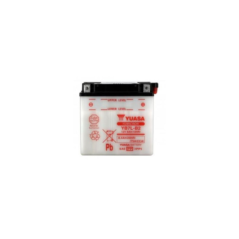 Battery YUASA type YB7L-B2