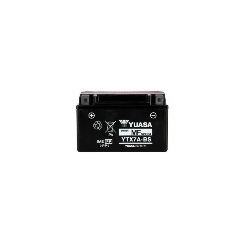 Batterie YUASA type YTX7A-BS
