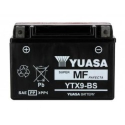 Batterie YUASA type YTX9-BS AGM