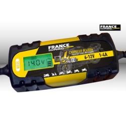 Chargeur de batterie 6-12V - 1 à 4A