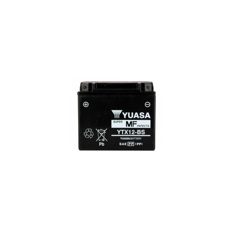 Batterie YUASA type YTX12-BS