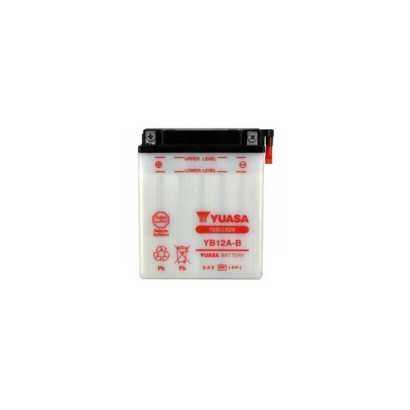 Battery YUASA type YB12A-B