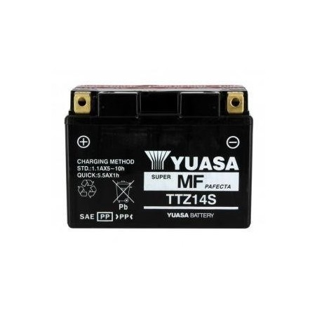 Batterie YUASA type TTZ14-S AGM