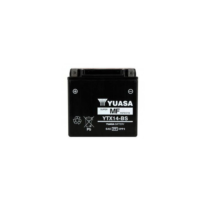 Batterie YUASA type YTX14-BS